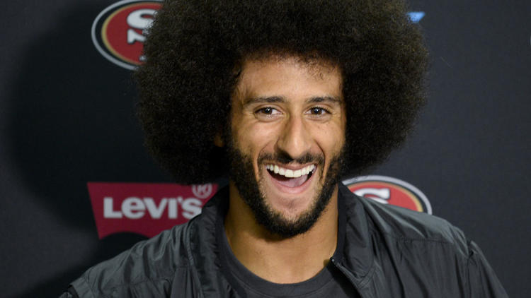 If Colin Kaepernick had given black-power salute, would his critics be happier?